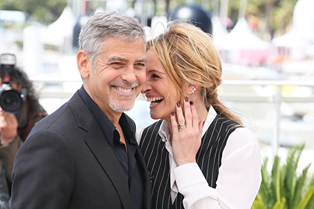 George Clooney and Julia Roberts at an event for Money Monster (2016)