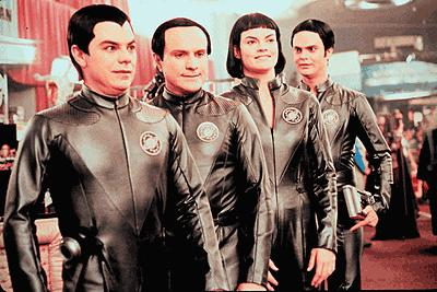 The Thermians attend the Galaxy Quest convention