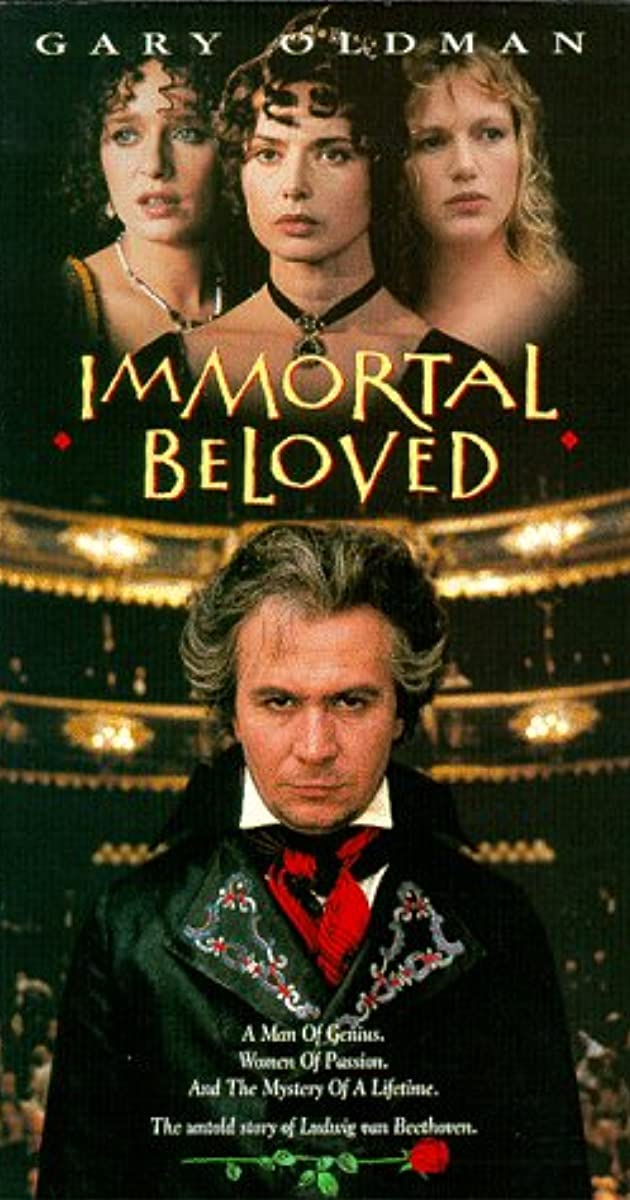 immortal beloved the movie There is an image in immortal beloved as evocative as any i can remember - as complete as the sled in citizen kane, or the shadowy doorway in the third man a boy runs through the.