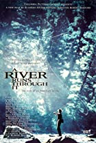 A River Runs Through It (1992) Poster