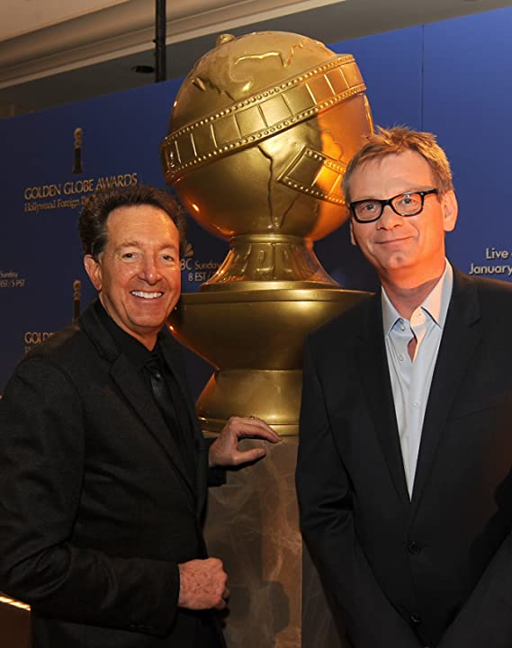 Barry Adelman and Theo Kingma at 71st Golden Globe Awards (2014)
