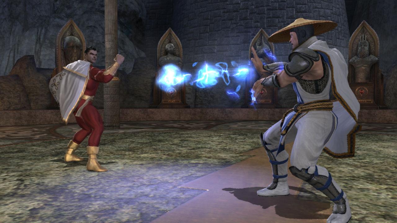 Mortal kombat vs dc universe на пк скачать