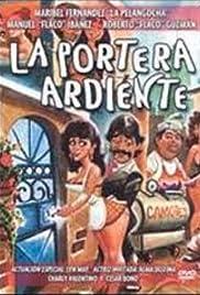 La portera ardiente Poster