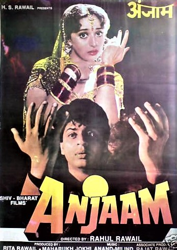 Image result for anjaam poster