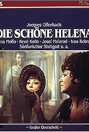 Die schöne Helena Poster