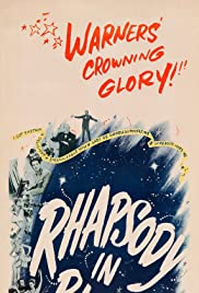 Rhapsody in Blue (1945) Poster - Movie Forum, Cast, Reviews