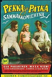 Pekka ja Pätkä sammakkomiehinä Poster
