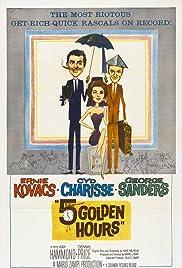 Five Golden Hours(1961) Poster - Movie Forum, Cast, Reviews