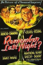 Image of Remember Last Night?