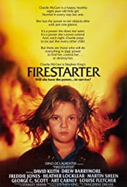 Firestarter (1984) Poster - Movie Forum, Cast, Reviews