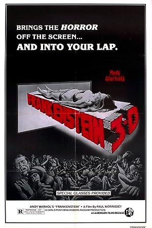 Flesh for Frankenstein poster