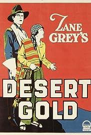 Desert Gold Poster