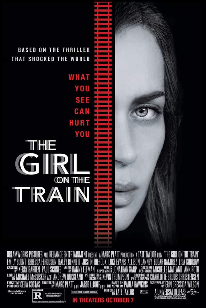 The Girl on the Train 2016 720p BRRip English Full Movie Watch Online Free Download