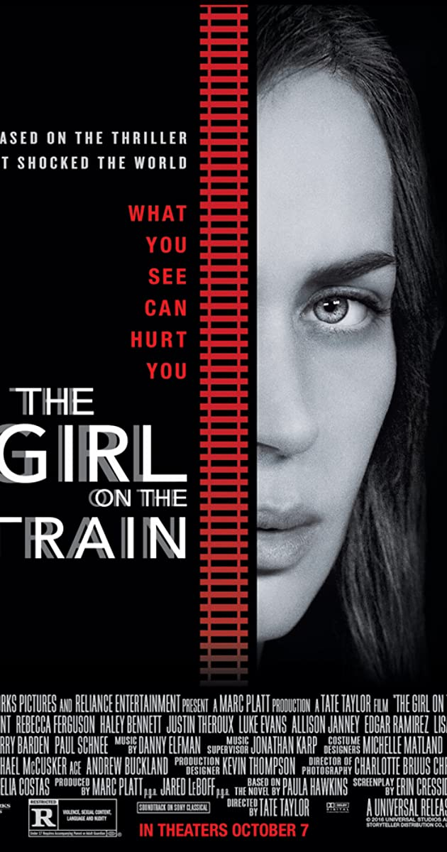 Mergina traukiny / The Girl on the Train (2016) parsisiusti atsisiusti filma nemokamai