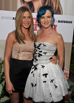 Jennifer Aniston and Juliette Lewis at an event for The Switch (2010)