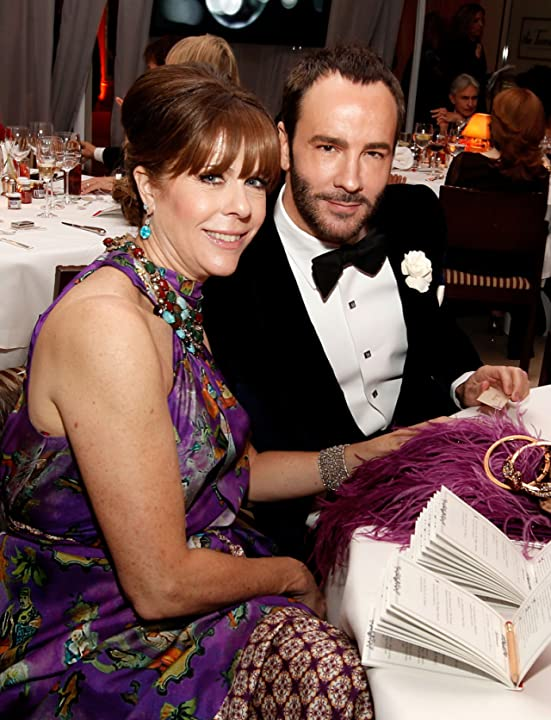 Rita Wilson and Tom Ford