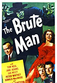 The Brute Man (1946) Poster - Movie Forum, Cast, Reviews