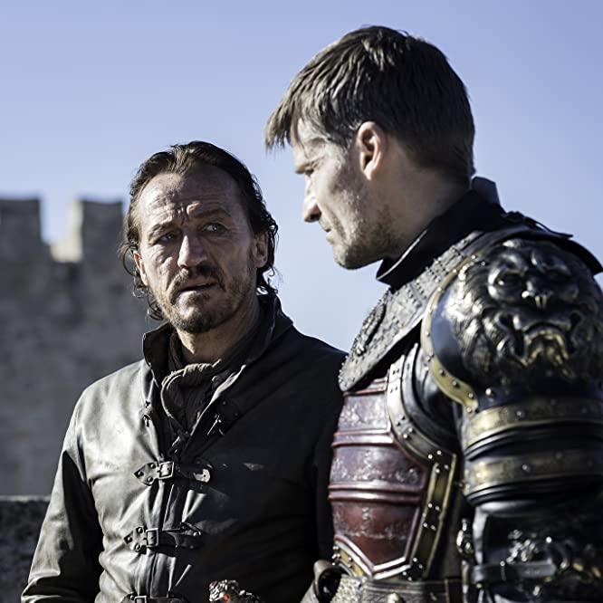 Nikolaj Coster-Waldau and Jerome Flynn in Game of Thrones (2011)