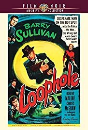 Loophole(1954) Poster - Movie Forum, Cast, Reviews