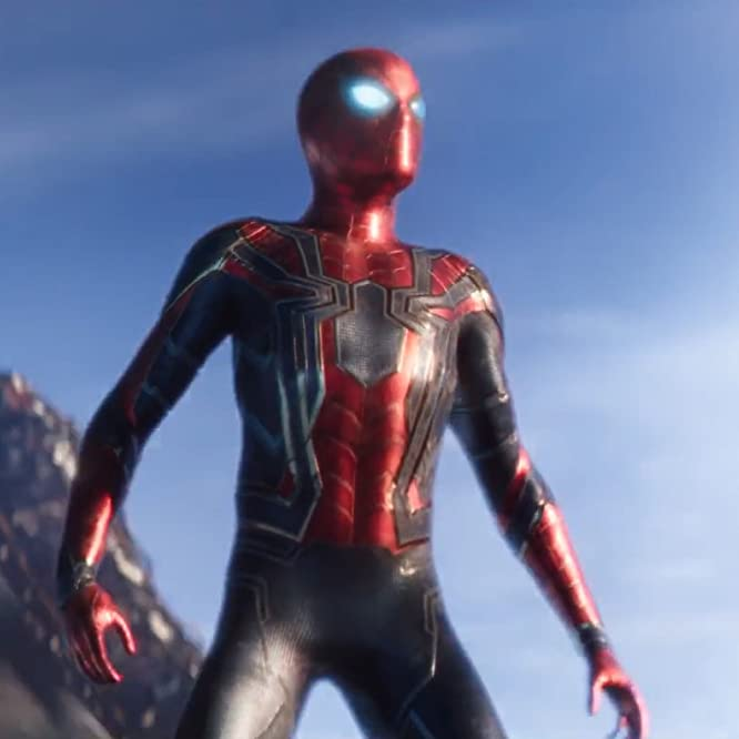 Tom Holland in Avengers: Infinity War (2018)