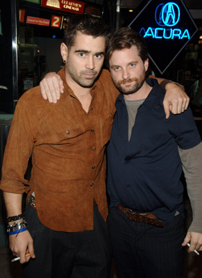 Colin Farrell and Shea Whigham at an event for Wristcutters: A Love Story (2006)