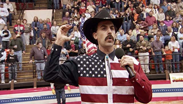 Sacha Baron Cohen in Borat: Cultural Learnings of America for Make Benefit Glorious Nation of Kazakhstan (2006)