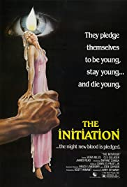 The Initiation (1984) Poster - Movie Forum, Cast, Reviews