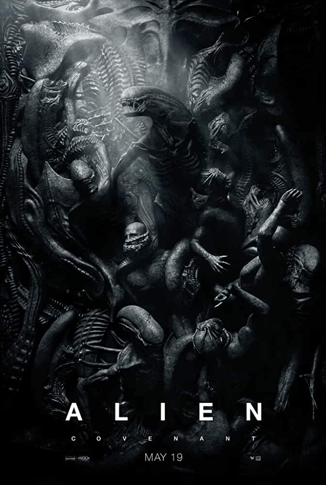 Poster Alien Covenant 2017 Full HD Movie Download 720p Dual Audio Hindi Dubbed