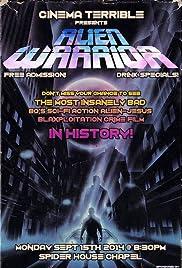 Alien Warrior Poster