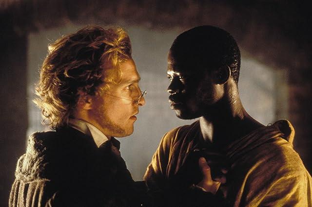 Matthew McConaughey and Djimon Hounsou in Amistad (1997)