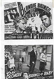 Blondie Brings Up Baby Poster