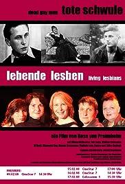 Tote Schwule - Lebende Lesben Poster