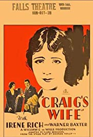 Craig's Wife Poster