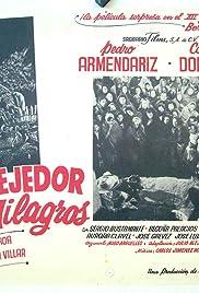 El tejedor de milagros Poster