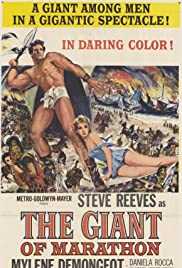 The Giant of Marathon (1959) Poster - Movie Forum, Cast, Reviews