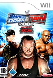 WWE SmackDown vs. RAW 2008 Poster