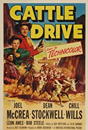 Cattle Drive (1951) Poster - Movie Forum, Cast, Reviews