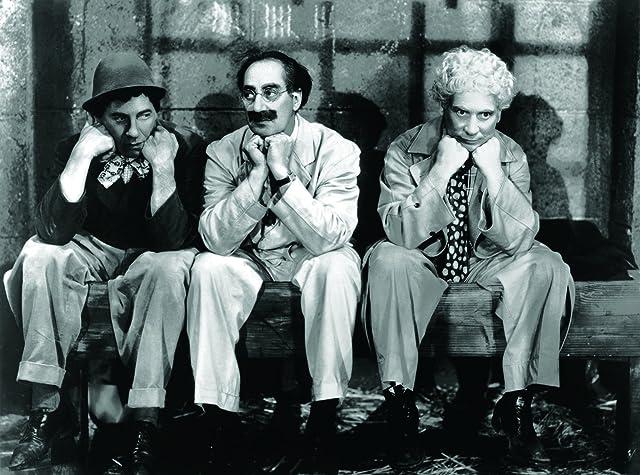 Groucho Marx, Chico Marx, and Harpo Marx in A Night in Casablanca (1946)