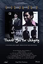 Thank You for Judging (2011) Poster