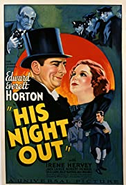 His Night Out Poster
