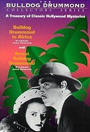 Arrest Bulldog Drummond Poster