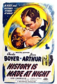 History Is Made at Night (1937) Poster - Movie Forum, Cast, Reviews