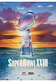 Super Bowl XXIII Poster