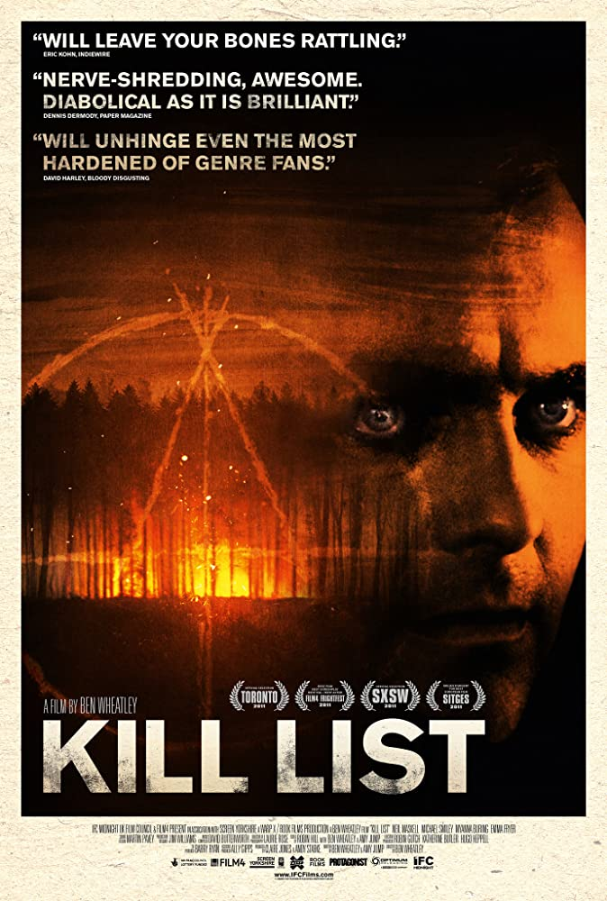 Kill List poster do filme