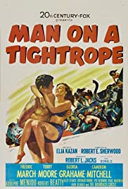 Man on a Tightrope (1953) Poster - Movie Forum, Cast, Reviews