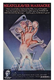 Meatcleaver Massacre Poster