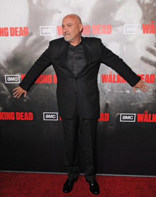 Frank Darabont at The Walking Dead (2010)