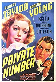 Private Number(1936) Poster - Movie Forum, Cast, Reviews