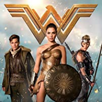 Robin Wright, Chris Pine, and Gal Gadot in Wonder Woman (2017)