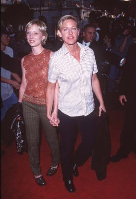 Anne Heche and Ellen DeGeneres at Face/Off (1997)
